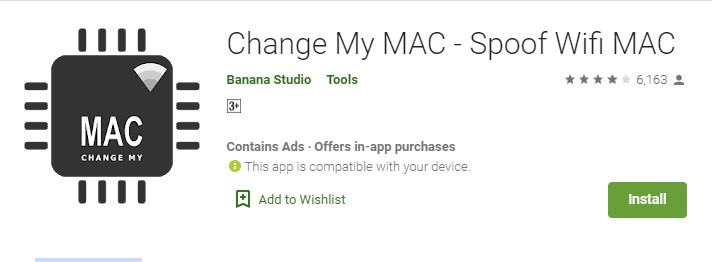 Install Change My MAC
