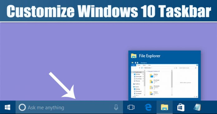How To Change the Height & Width of Windows 10 Taskbar