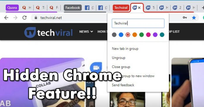 How To Enable Tab Groups Feature on Chrome Browser (Stable Build)
