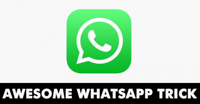 How To Find out whom you're Talking to the most on WhatsApp