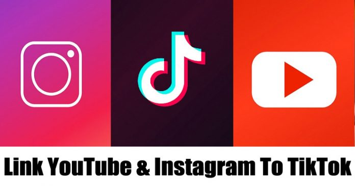 How to Link YouTube Channel & Instagram to your TikTok Account