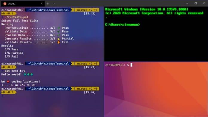 windows teminal 1.0