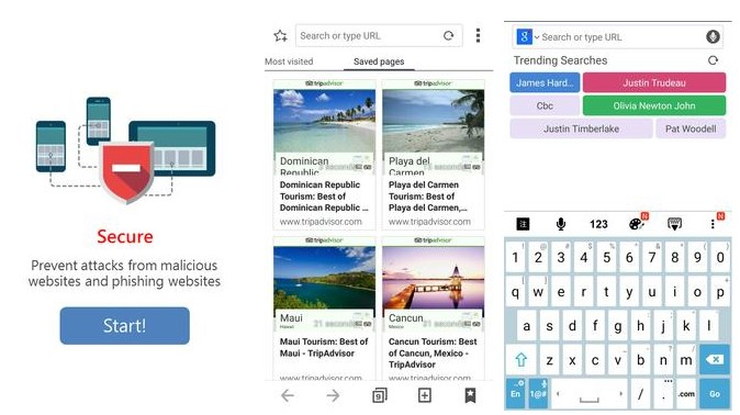 Asus Browser- Secure Web Surf
