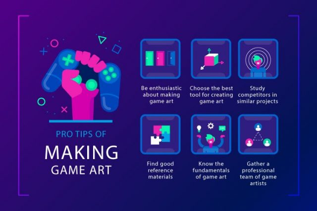 5 Pro Tips for Creating Game Art Like in World-Famous Projects