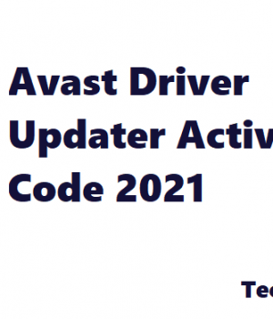 Avast Driver Updater Key -